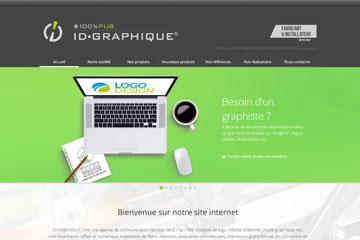 Nouveau site internet id graphique