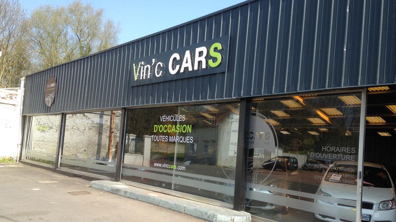 Fabrication et pose de lettres reliefs et d coup es pour for Enseigne garage automobile