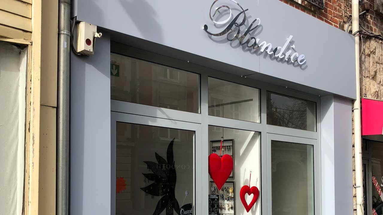 Magasin Des Idees Deco habillage des façades de magasins : fabrication & pose d