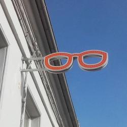 caisson enseigne lunette optique led