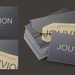 carte de visite design pour magasin