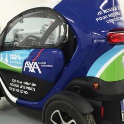 total covering sur voiture électrique