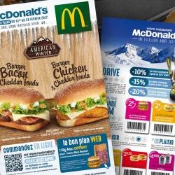 création des campagnes Mac Donald's