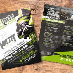création flyer publicitaire
