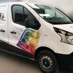 décoration publicitaire véhicule pro