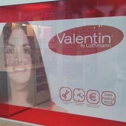 décoration vitrine de magasin