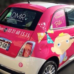 covering voiture publicité