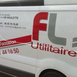 lettrage camion utilitaire