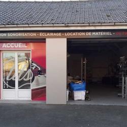 habillage facade commerce
