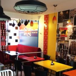 habillage mur intérieur restaurant