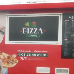 lettrage déco remorque pizza modèle