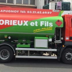lettrage publicitaire camion citerne