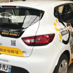 marquage publicitaire sur véhicule Renault
