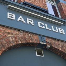 lettre enseigne PVC bar