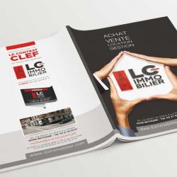 projet brochure agence immobilière