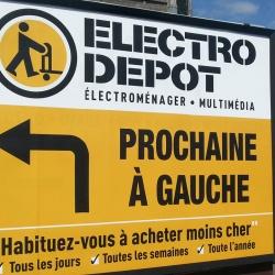 panneau signalétique électro dépôt