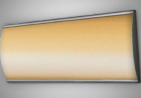Caisson galbé lumineux R° / RADIUS
