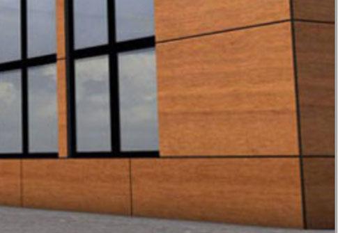 Habillage de fa ade de magasin fabrication et pose d for Fabricant panneau publicitaire exterieur