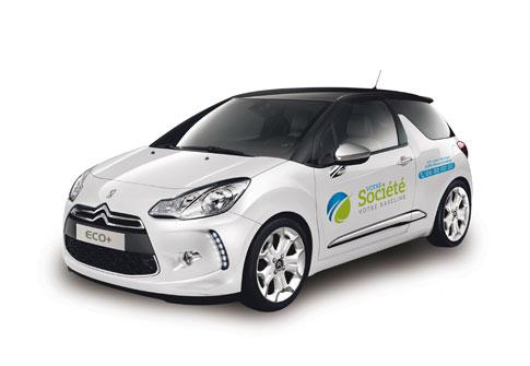 lettrage véhicule eco