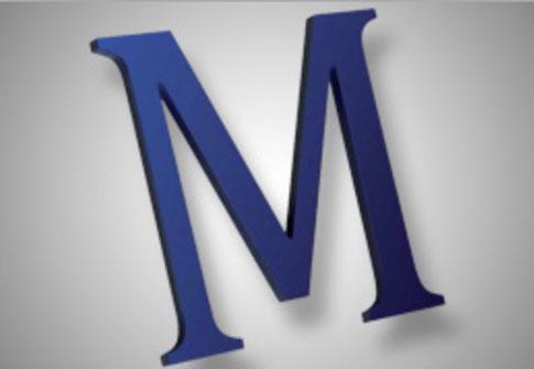 lettres PVC