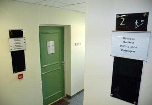 Signalétique maison de santé
