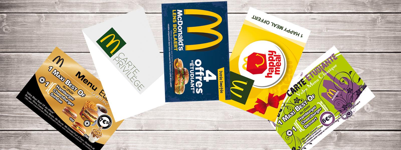 Carte Entreprise Mc Donalds