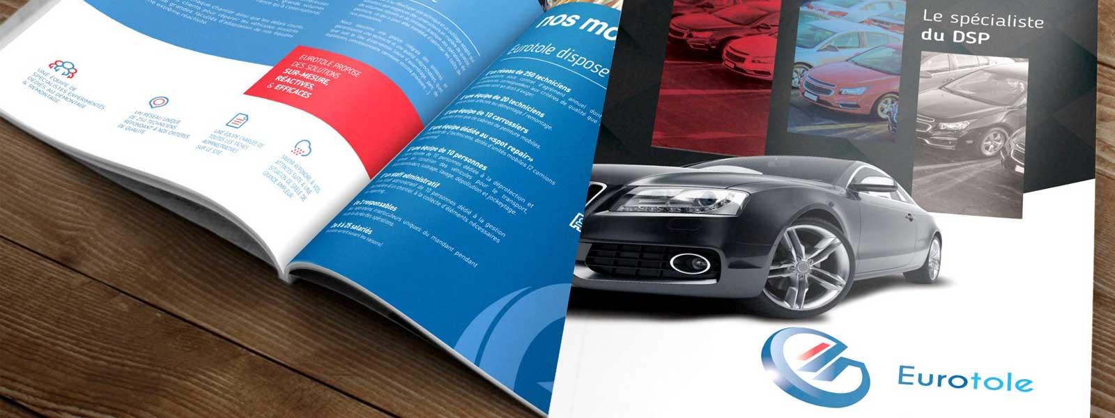création de brochure professionnelle
