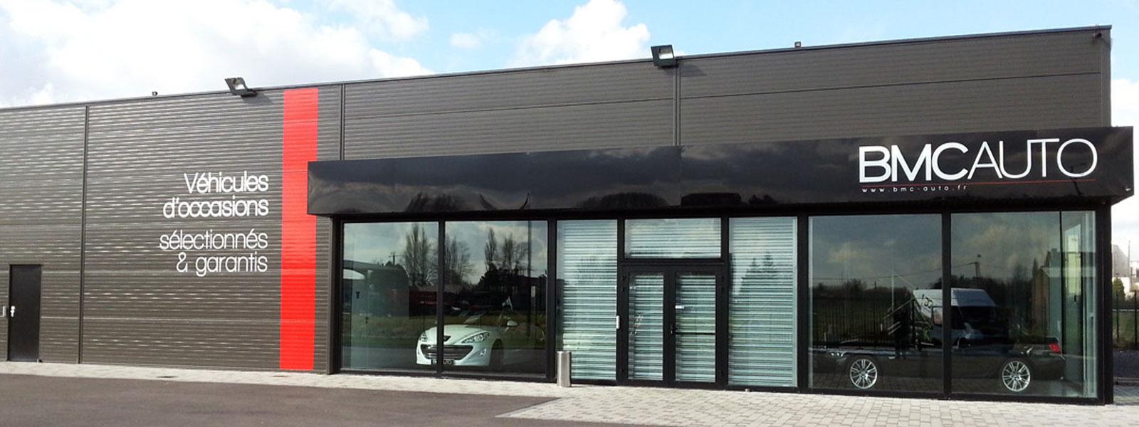 Fabrication et pose d 39 enseignes habillage de magasins for Fabricant panneau publicitaire exterieur