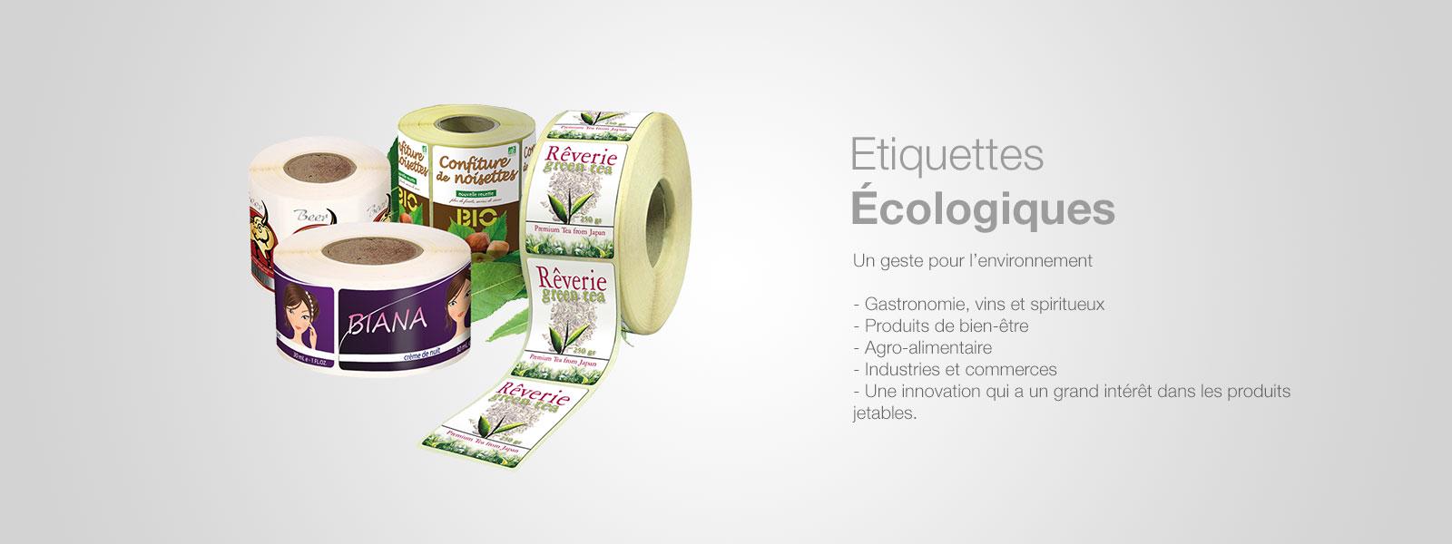 Etiquettes écologiques