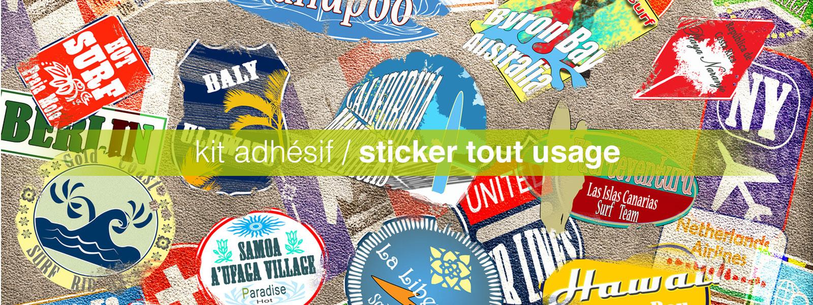 kit adhésif sticker