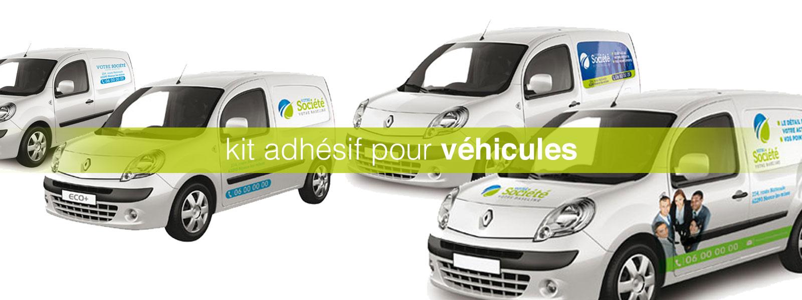 kit adhésif véhicule