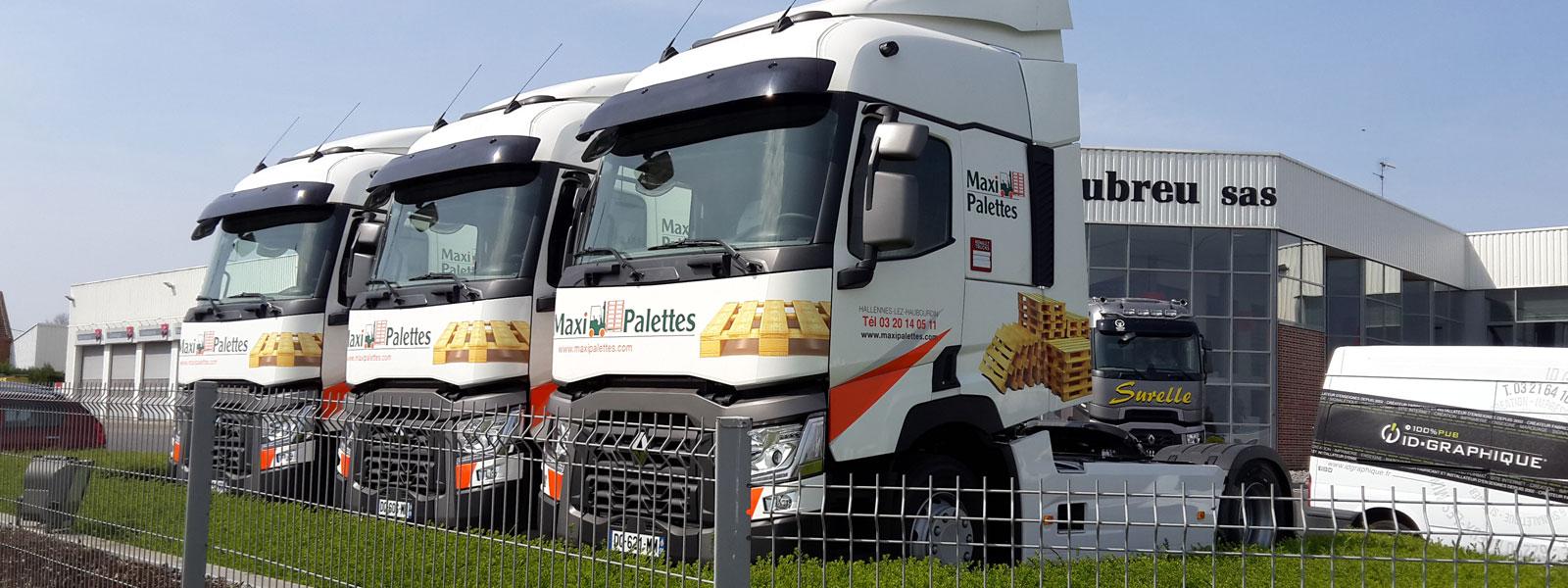 lettrage deco camion tracteur renault