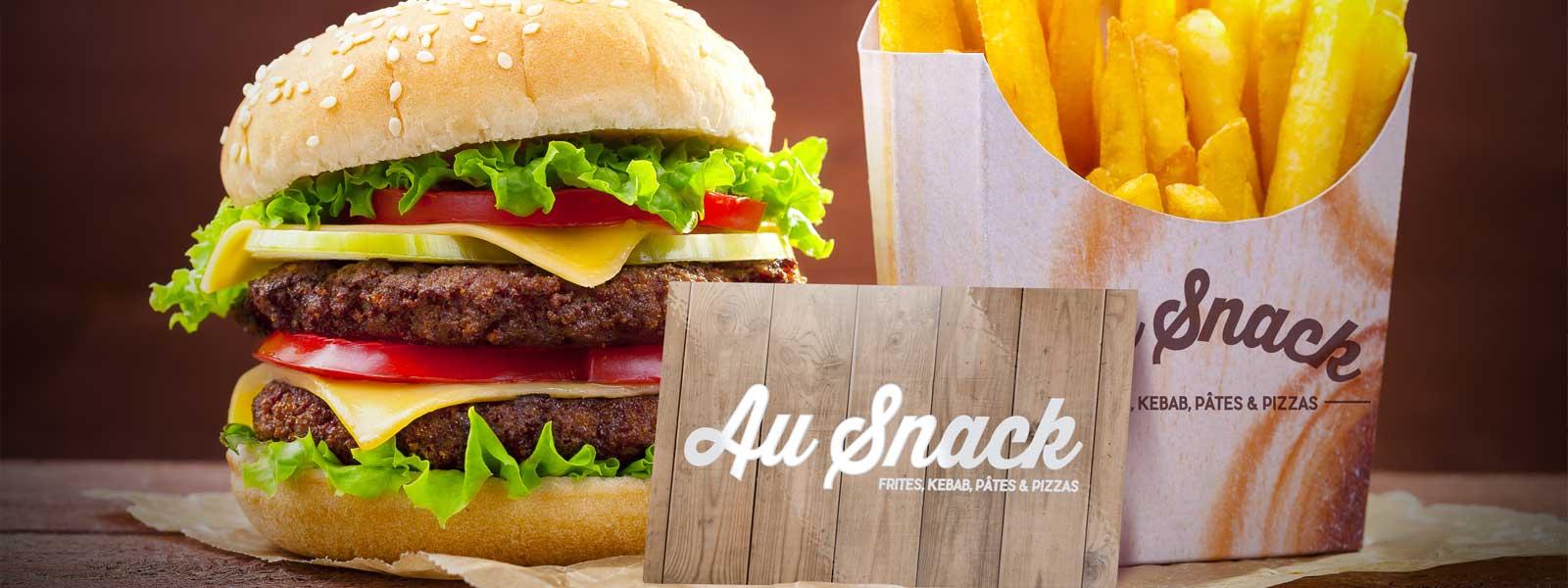 refonte de logo pour une friterie / restaurant